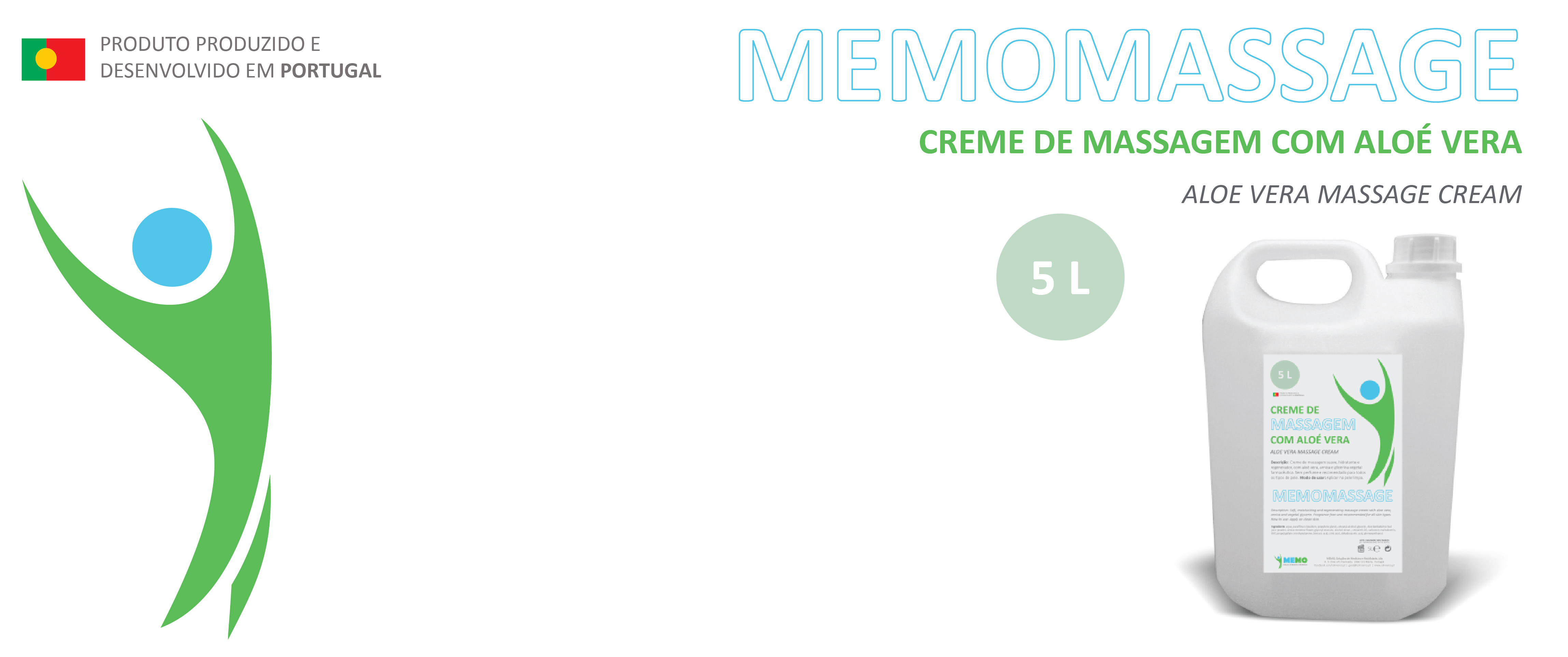 Creme de Massagem - MEMOMASSAGE